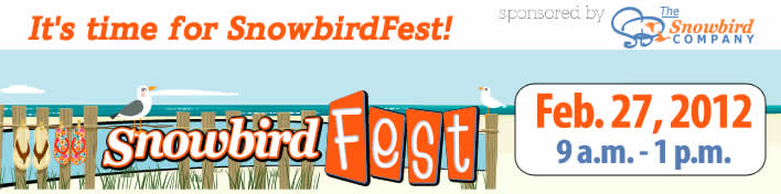 Visit the Snowbird FEST website for more info! Book the date…