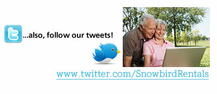 Do You Tweet?? Snowbird Rentals - Monthlyand Offseason Winter Rental Rates