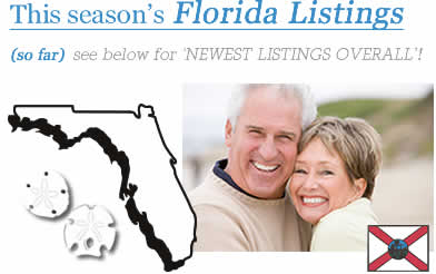 Florida Snowbird Rentals - Monthly & Offseason Winter Rental Rates
