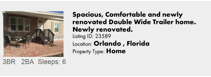 Click to view this Orlando Florida rental on FloridaSnowbird.com