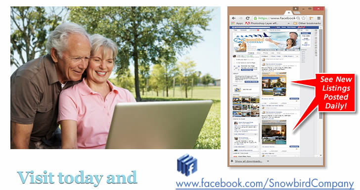 Visit our Facebook page & 'Like' us to see all the newest properties!